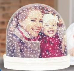 Schneekugel mit deinem Bild für 4,99€ @Myprinting