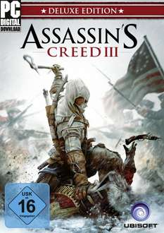 Assassin's Creed 3 Digital Deluxe Edition (PC-Download) für 14,95€
