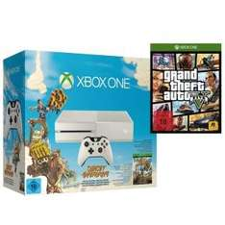Xbox One Konsole - weiss (inkl. Sunset Overdrive & GTA 5) vergleichspreis 428,02€