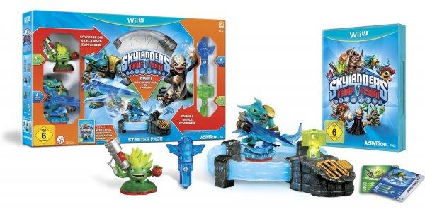 Skylanders: Trap Team - Starter Pack - Standard Edition Wii U für 41,97€ (Bestpreis) bei amazon.de Cyber Monday deals