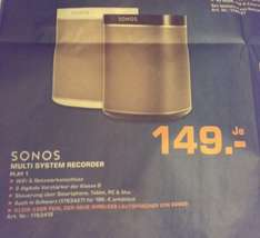 [Lokal OF] Sonos Play 1 Multi System Recorder weiß