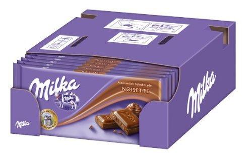 Preisfehler: 2,1kg Milka Noisette (21 x 100g Tafel) für 5,33€