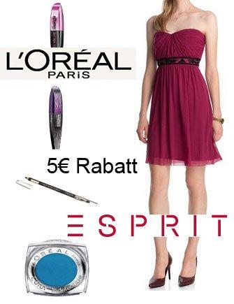 Amazon - 5 Euro Sofort-Rabatt auf ESPRIT-Kleidung