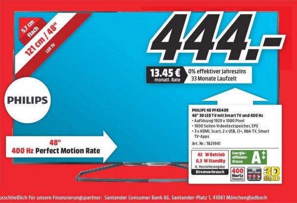 [MM Trier] Philips 48PFK6409 für 444€ nur am 30.11., Chromebook 14 für 222€, Bosch TES 50159 für 333€, Bosch WTW86271 für 555€