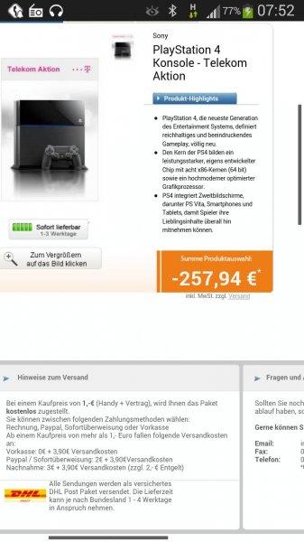 Telekom Hammervertrag bei Logitel