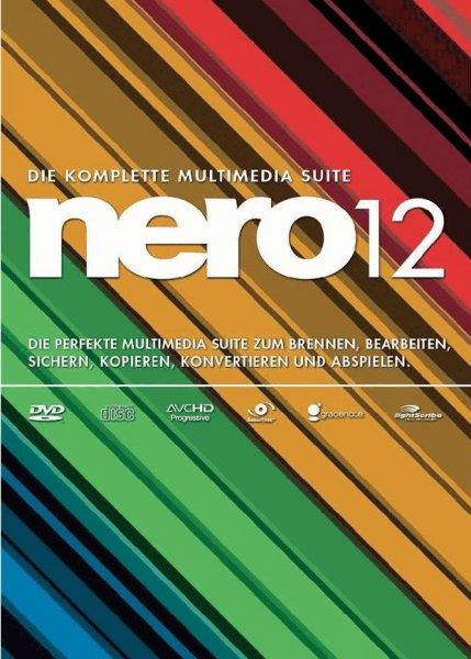 [Conrad online, Blackweek] Nero 12 Vollversion, 1 Lizenz Windows Brenn-Software , VSK frei
