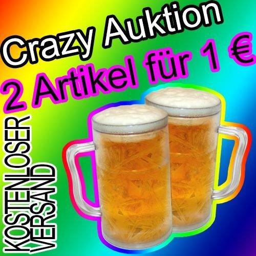 @ebay: 2 Bierkrüge mit Kühlfunktion für 1 Euro inkl. Versand