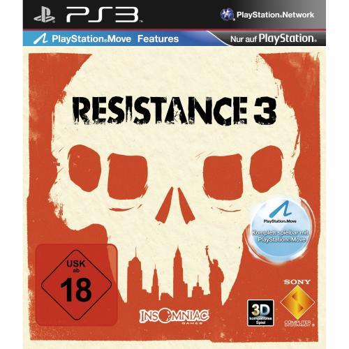 Resistance 3 (PS3) im Saturn [LOKAL ?] für 29,99 €