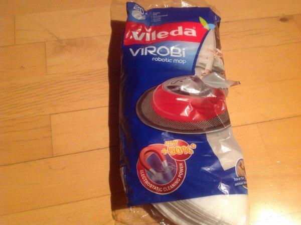 Top! Vileda Virobi Nachfülltücher 20Stk. für 2,99€ Bei Lidl im Ausverkauf