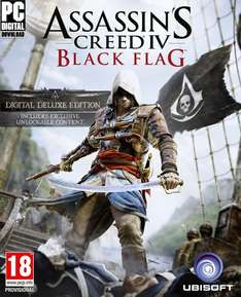 [Amazon UK] Assassins Creed IV: Black Flag Digital Deluxe Edition