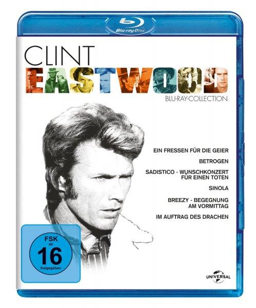 Clint Eastwood - Collection (6 Filme) Blu-ray für 16,05 € (Prime) > [amazon.de]