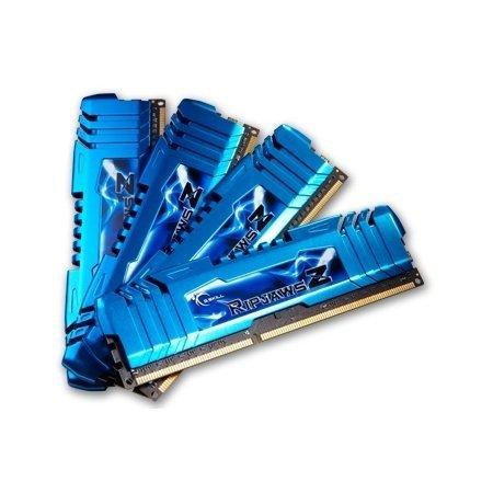 G.Skill F3-14900CL8Q-16GBZM Arbeitsspeicher 16GB (1600MHz, CL8, 4x 4GB) DDR3-RAM für 102.91 Euro mit Gutschein und 112.91 Euro ohne Gutschein
