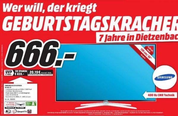 Samsung UE55H6470 MediaMarkt Dietzenbach