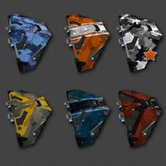Gratis: Elite: Dangerous Cobra Nest Paint Pack (6 paint jobs)