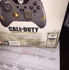 Xbox One Controller | COD Advanced Warfare Design