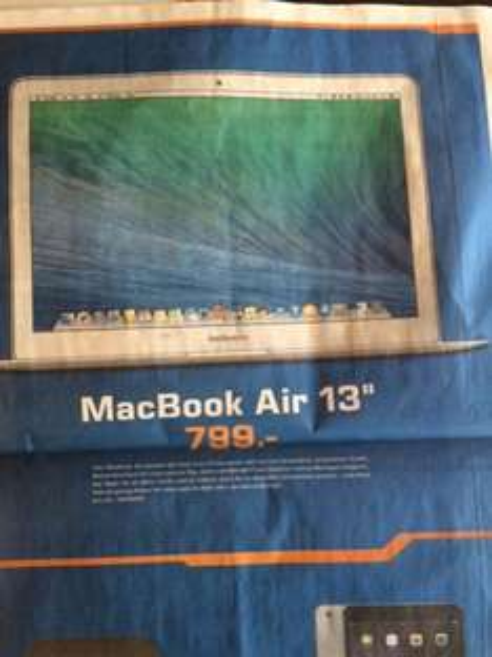 "[lokal Stuttgart/Esslingen] MacBook Air 13"" im Saturn"