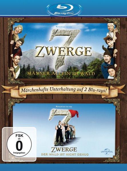 [Blu-ray] 7 Zwerge - Männer allein im Wald/Der Wald ist nicht genug für 7,29€ bei Amazon.de (Prime)