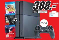 [Lokal] Mediamarkt Meerane - PS4 + Driveclub + TheLastofUs remastered + Little Big Planet 3 - 388Euro