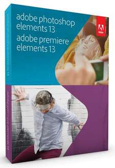 Adobe Photoshop & Premiere Elements 13 (WIN/Mac) für 54,39€ inkl VSK @redcoon Black Friday
