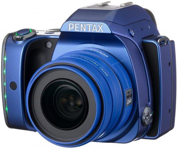 Pentax K-S1 SLR-Digitalkamera mit Kit 35 mm blau,schwarz mit Kit 50 mm ,weiß inkl.Vsk für 405,29 € > [amazon.fr] > Blitzangebot