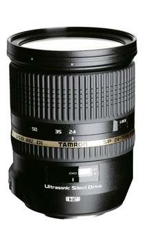 Tamron SP 24-70mm f2.8 Di VC USD [Nikon] für 705,70 @Amazon.fr