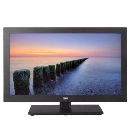 "Ebay Wochenaktion SEG Nizza 55cm 22"" Full HD LED Fernseher DVD Player Triple Tuner 12V"