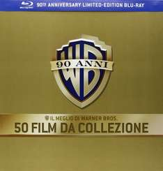 90 Jahre Warner Bros. Jubiläums-Edition - 50 Film Collection (53 Discs) [Blu-ray] inkl. Vsk für 155,85 € > [amazon.it] > Black Friday Deals