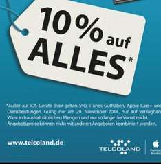 Black Friday 10% Telcoland Apple Premium Reseller