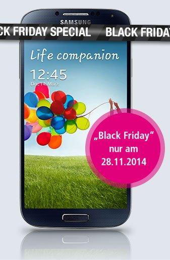 [Black Friday] Samsung Galaxy S4 für 269€ bei Smartkauf - 28.11.14