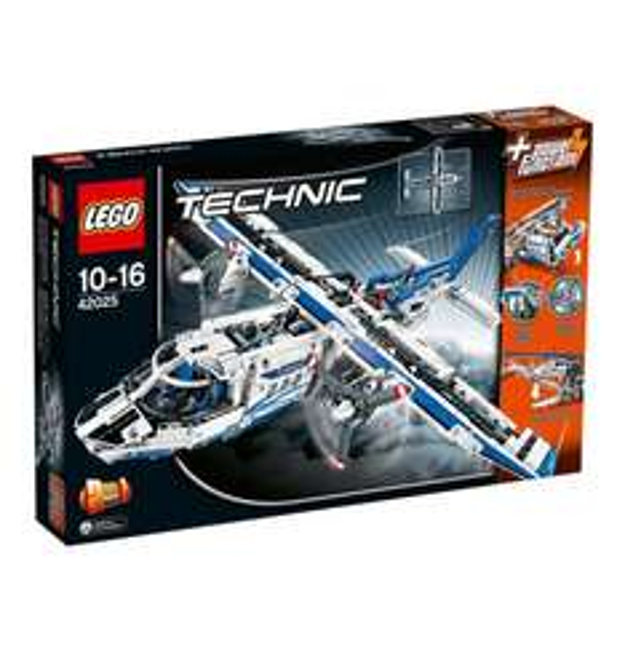 [Galeria] LEGO Technic 42025 Frachtflugzeug für 68,39 Euro