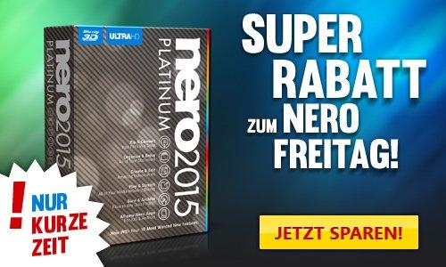 Nero 2015 Platinum für 34,99€