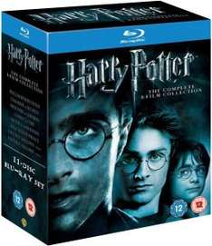 [zavvi.com] Harry Potter – The Complete Collection (1-7.2) | Blu-ray | OV | 25,59€