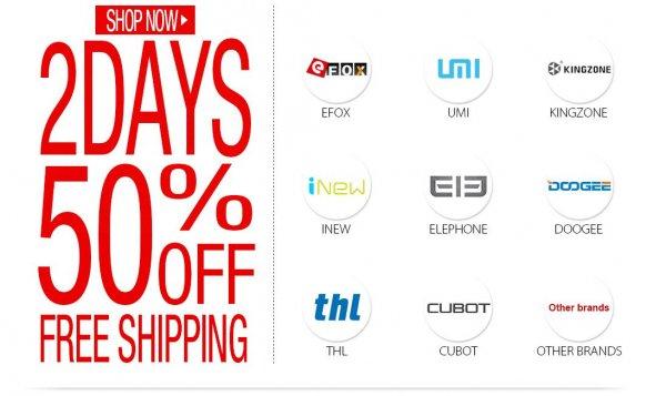 Black Friday im EFOX Shop, bis zu 50%