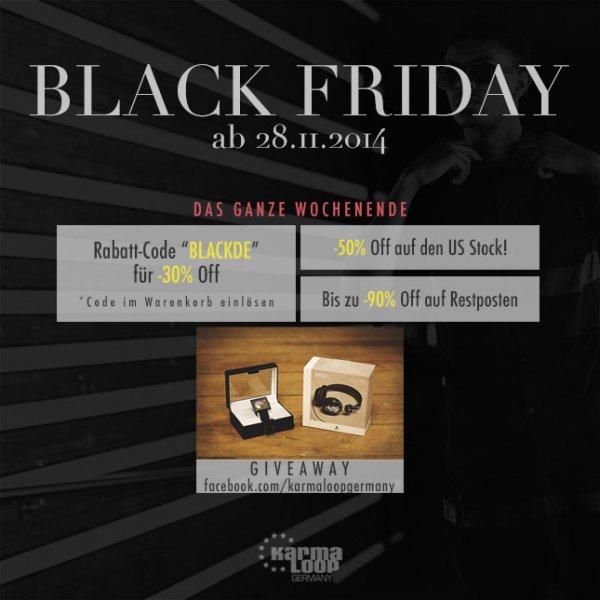 Black Friday bei Karmaloop.de
