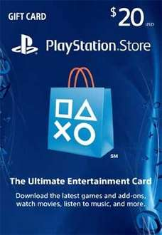 Playstation Network $20.00 Card (US) für 12,84€ bei pcgamesupply.com