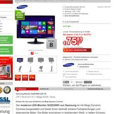 Samsung S22D300H @Redcoon - Black Friday