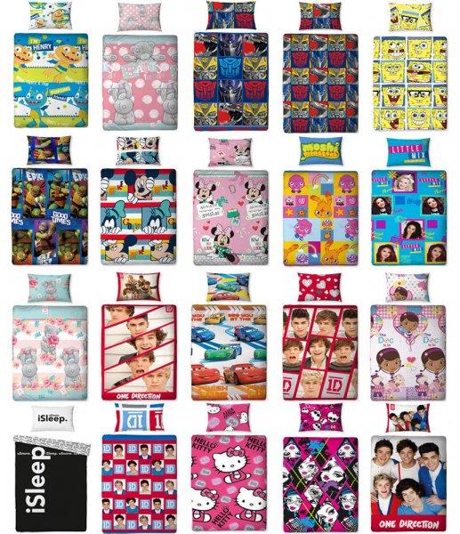 [ebay] coole Kinder Bettwäsche 135x200 div Motive