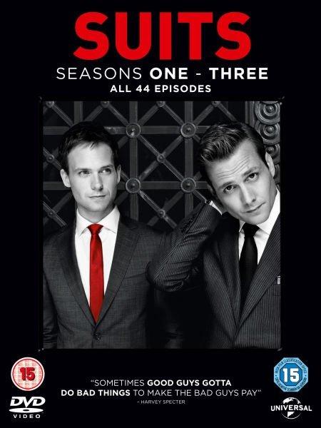 Suits Staffel 1-3 (DVD) O-Ton für 17,95€ @Zavvi