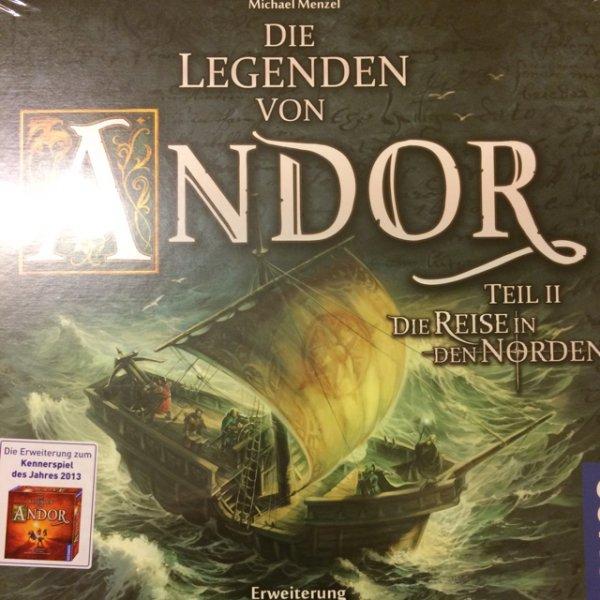 [Kaufhof] Legenden von Andor Teil II - Die Reise in den Norden mit Payback Coupon für 26,99€