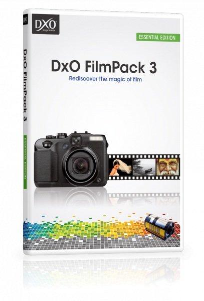 DxO FilmPack 3 Essential (Win u. Mac) Kostenlos (wieder da)
