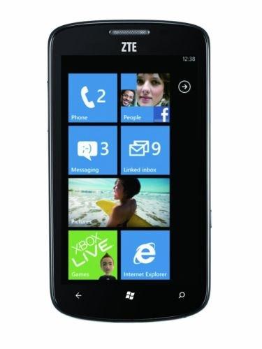 Windows Smartphone mit großem 4.3 Zoll Bildschirm, GPS und Navi Möglichkeit von ZTE - nur 39,99€