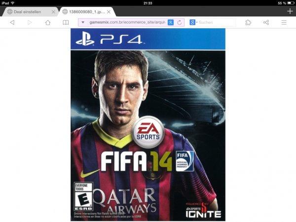 FIFA 14 PlayStation 4 @ Media Markt Rosenheim 15€