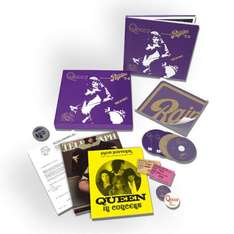 Queen - Live at the Rainbow 1974 (Limited Super Deluxe Boxset) - CD/Blu ray/DVD/Buch
