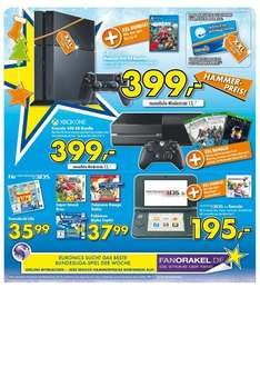 [Lokal - Euronics Einbeck] Xbox One 500GB Bundle oder Playstation 4 500GB Bundle