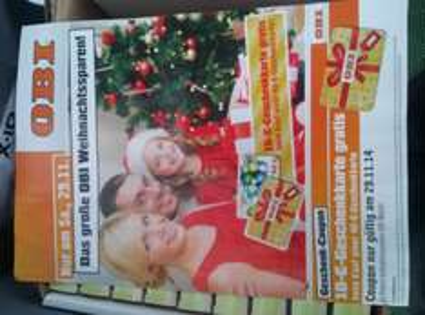 Obi Neuss lokal? 40€ Geschenkkarte kaufen, 10 € Geschenkkarte gratis, 20%