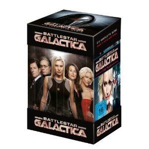 Battlestar Galactica - Die komplette Serie [25 DVDs] Amazon für 24,08€ + ggf 1,40€ VSK