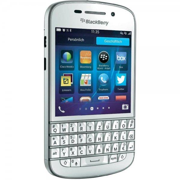 Weißes Blackberry Q10 für 158,50 inkl. Versand *NEU*
