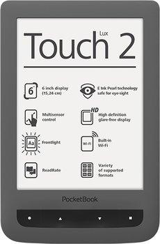 [Voelkner] Pocketbook Touch Lux 2 Ereader grau für 89€ - 10% unter Idealo
