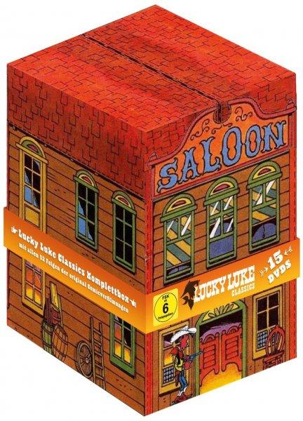 Lucky Luke - Classics Komplettbox (15 Discs) für 43,03 € > [amazon.de]