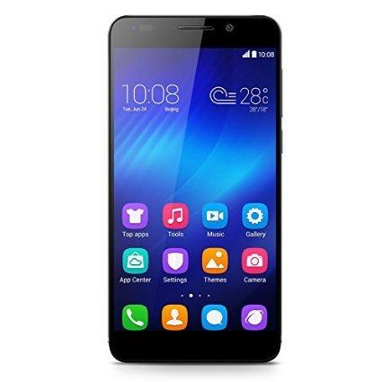 Huawei Honor 6 16GB in schwarz für 265€ bei Amazon